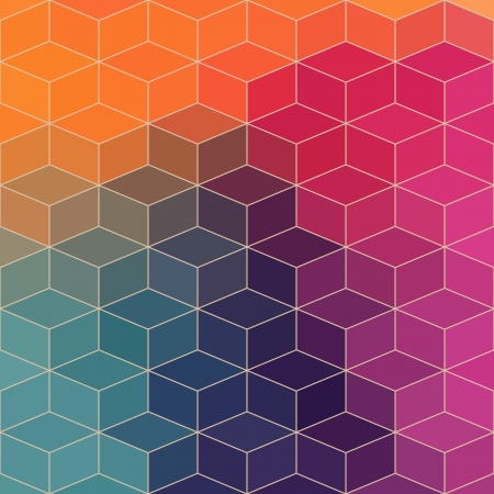 Vector geometric pattern with geometric shapes, rhombus. That square design has the ability to be repeated or tiled without visible seams Stock Vector - 25377933