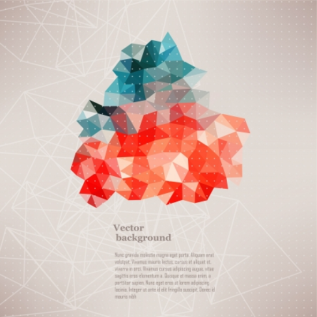triangle pattern: Triangle pattern background, triangle background, vector illustration with plenty space for your text