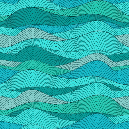 Seamless waves texture,wavy background.Copy that square to the side and you'll get seamlessly tiling pattern which gives the resulting image the ability to be repeated or tiled without visible seams. Stock Vector - 25379526