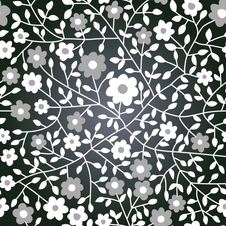 Vector chalkboard seamless floral pattern. Copy that square to the side,you'll get seamlessly tiling pattern which gives the resulting image the ability to be repeated or tiled without visible seams.