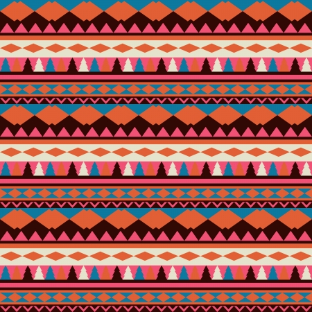 african tribe: Seamless vector tribal texture. Tribal vector pattern. Colorful ethnic striped pattern. Geometric borders. Traditional ornament. Hand drawn abstract backdrop. Wallpaper for pattern fills, web page