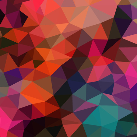 Vector retro pattern of geometric shapes. Colorful mosaic banner. Geometric hipster retro background with place for your text. Retro triangles background. Backdrop. Color. Colorful. Vector