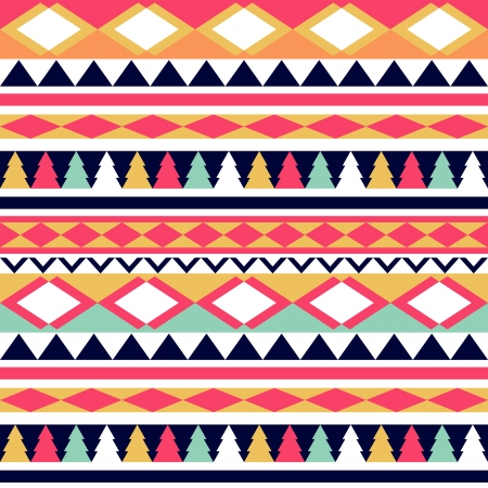 Seamless vector tribal texture. Tribal vector pattern. Colorful ethnic striped pattern. Geometric borders. Traditional ornament. Hand drawn abstract backdrop. Wallpaper for pattern fills, web page