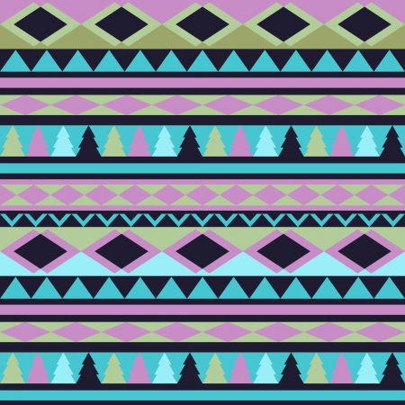 Seamless vector tribal texture. Tribal vector pattern. Colorful ethnic striped pattern. Geometric borders. Traditional ornament. Hand drawn abstract backdrop. Wallpaper for pattern fills, web page Vector