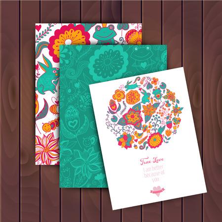 일상 생활, 벡터 꽃 배너입니다. 꽃 인사말 카드입니다. 텍스트를 배치합니다. 패턴 (마스크) 완료됩니다. 벡터 꽃 카드. 쉽게 편집 할 수 있습니다. 초