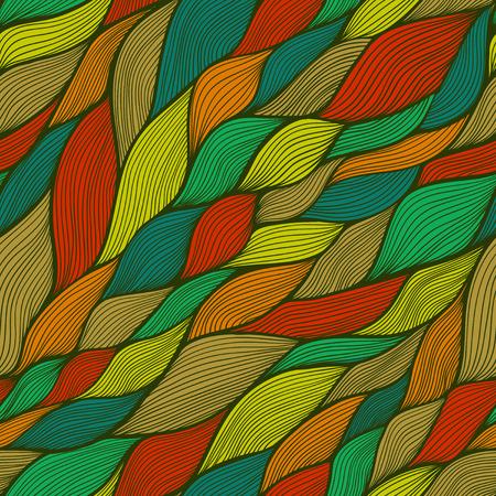clots: seamless abstract hand-drawn pattern