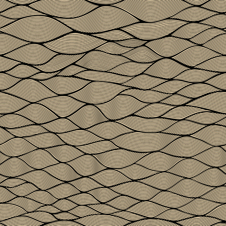 tangling: Seamless waves texture Stock Photo