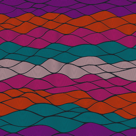 Waves pattern.Templates web page design. Stock Photo
