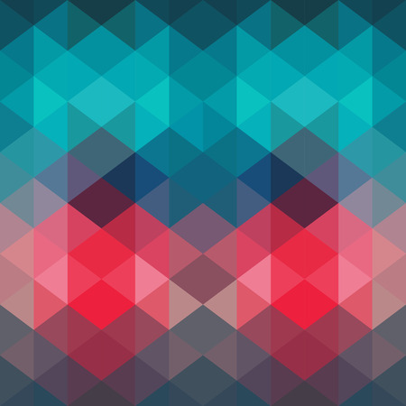 triangle pattern: Triangles pattern of geometric shapes. Stock Photo