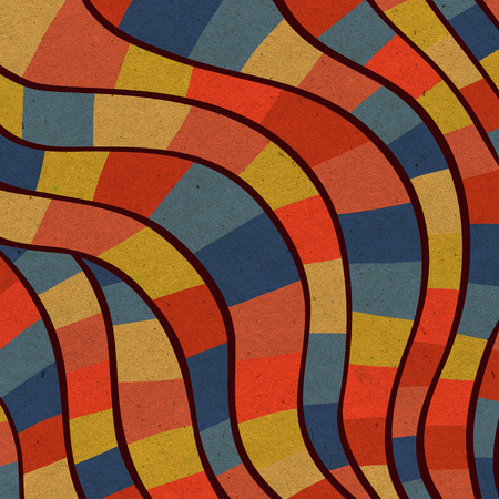colorful stripes: Colorful background with rectangles and different shapes.