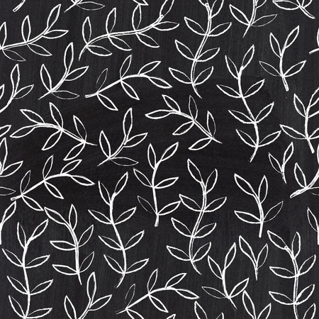 Chalkboard seamless leaf pattern. Copy that square to the side,youll get seamlessly tiling pattern which gives the resulting image the ability to be repeated or tiled without visible seams.
