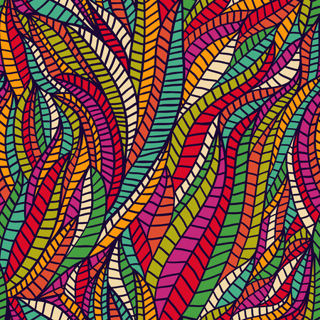 psychoanalysis: Seamless abstract hand-drawn waves pattern, wavy background. Seamless pattern can be used for wallpaper, pattern fills, web page background,surface textures. Gorgeous seamless floral background