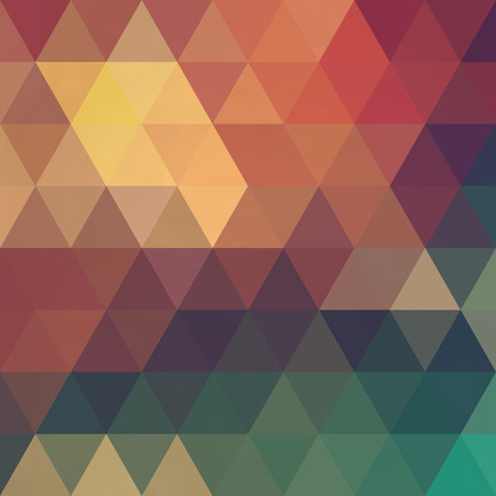 it background: Triangles pattern of geometric shapes. Colorful mosaic backdrop. Geometric hipster retro background, place your text on the top of it. Retro triangle background. Backdrop