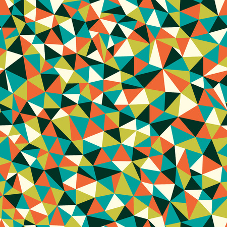 triangle pattern: Seamless texture with triangles, mosaic endless pattern