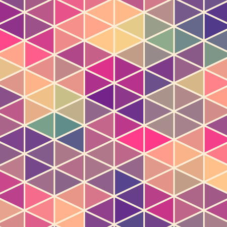Driehoeken patroon van geometrische vormen. Kleurrijk mozaïek achtergrond. Geometrische hipster retro achtergrond, plaats uw tekst op de top van het. Retro driehoek achtergrond. Achtergrond Stockfoto - 27757184