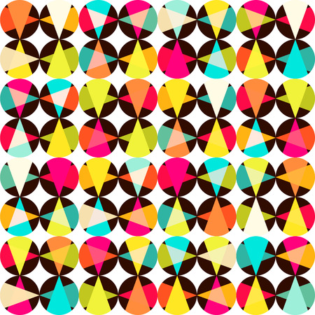 resulting: Pattern of geometric shapes.Texture with flow of spectrum effect. Geometric background. Copy that square to the side, the resulting image can be repeated, or tiled, without visible seams.