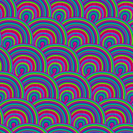 Seamless pattern with waves eps10. Seamless wave hand-drawn pattern, waves background (seamlessly tiling).Can be used for wallpaper, pattern fills, web page background,surface textures. Vector