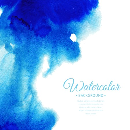 watercolor layout Ilustrace