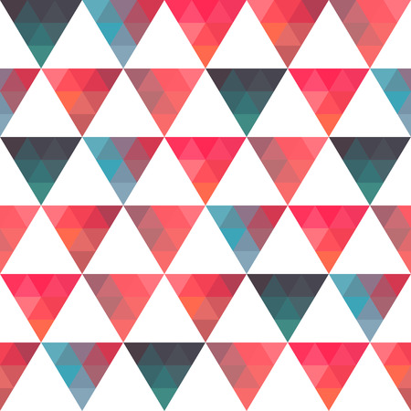 parallelepiped: Pattern of geometric shapes. Triangles.Texture with flow of spectrum effect.