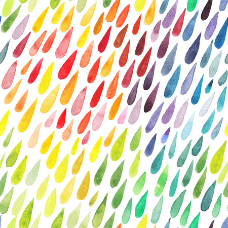 watercolor colorful abstract background. Collection of paint splash watercolor drops. set of brush strokes. Isolated on white background