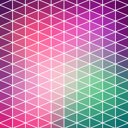 parallelepiped: Vector pattern of geometric shapes. Colorful-mosaic-banner. Geometric hipster retro background with place for your text. Retro triangle background. Illustration