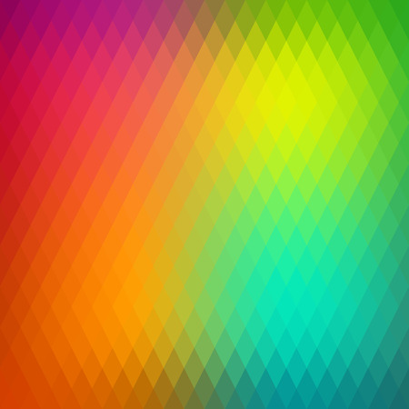 parallelepiped: Retro background, pattern rhombs, transition bright colors, vector background. Vector backdrop of geometric shape