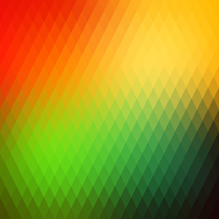 parallelogram: Retro background, pattern rhombs, transition bright colors, vector background. Vector backdrop of geometric shape