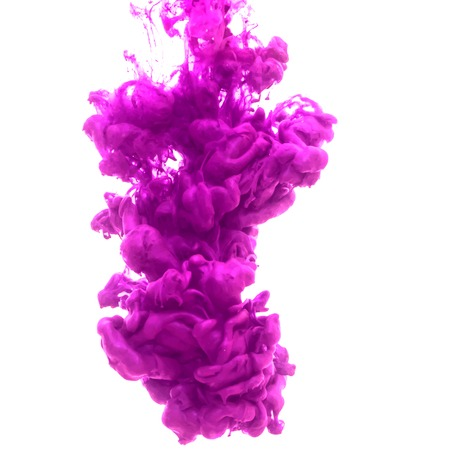 Vector abstract cloud. Ink swirling in water, cloud of ink in water isolated on white. Abstract banner paints. Holi. Liquid ink. Background for banner, card, poster, poster, identity,web design.Juice. 版權商用圖片 - 49061755