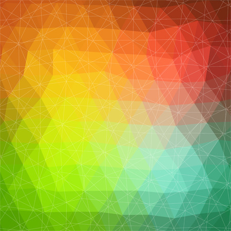 color spectrum: Vector pattern of geometric shapes. Colorful-mosaic-banner. Geometric hipster retro background with place for your text. Retro triangle background