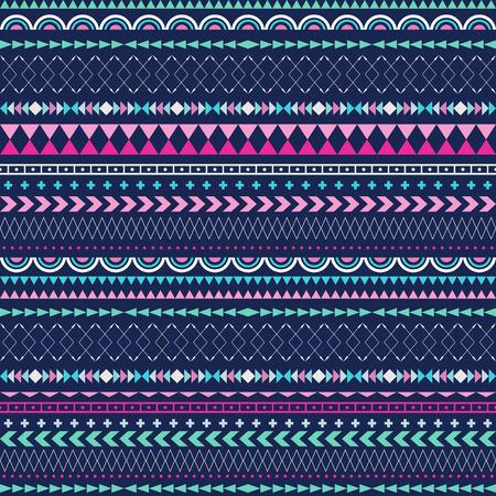 stripes pattern: Vector stripes pattern. Tribal seamless texture