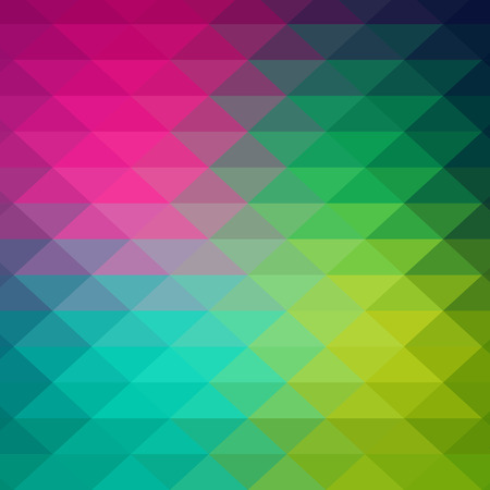 mosaic background: Vector pattern of geometric shapes. Colorful-mosaic-banner. Geometric hipster retro background with place for your text. Retro triangle background. Illustration