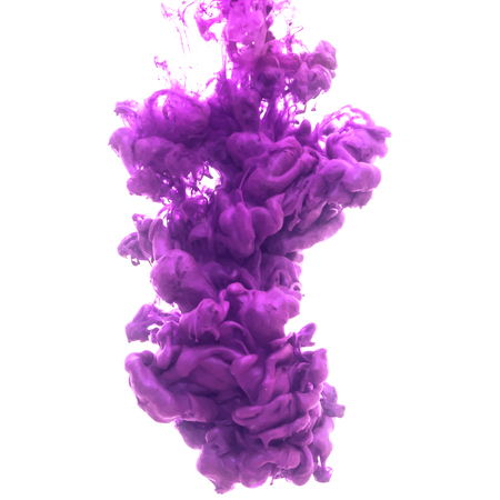 explode: Vector abstract cloud. Ink swirling in water, cloud of ink in water isolated on white. Abstract banner paints. Holi. Liquid ink. Background for banner, card, poster, poster, identity,web design.Juice.