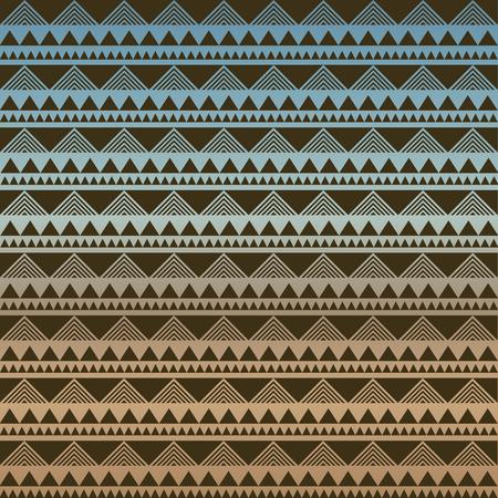 tribales: Seamless vector textura tribal. Perfecta textura tribal. Vintage tel�n de fondo sin fisuras �tnicas. Rayas Boho. Rayas boho de cosecha de fondo del modelo del estilo de la moda con elementos de forma tribales Vectores