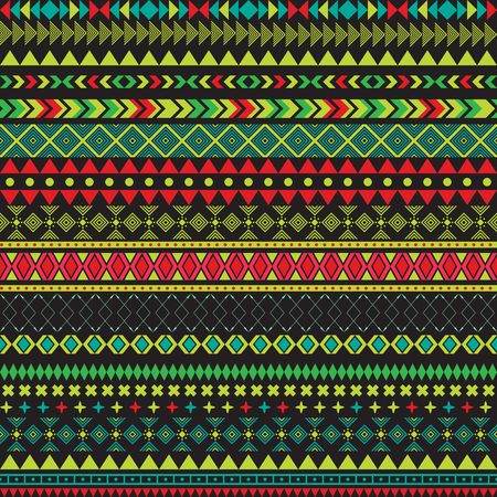 fabric textures: Seamless vector tribal texture. Tribal seamless texture. Vintage ethnic seamless backdrop. Boho stripes. Striped vintage boho fashion style pattern background with tribal shape elements