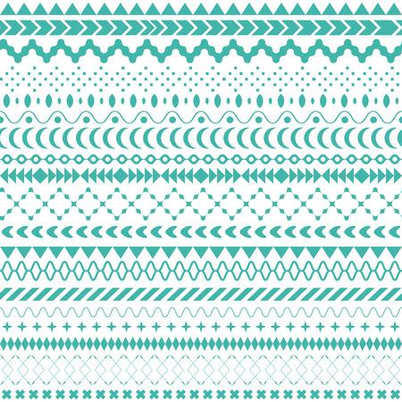 tribales: Seamless vector textura tribal. Perfecta textura tribal. Vintage tel�n de fondo sin fisuras �tnicas. Rayas Boho. Rayas boho de cosecha de fondo del modelo del estilo de la moda con elementos de forma tribales Foto de archivo