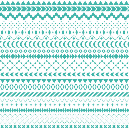 tribal: Seamless vector tribal texture. Tribal seamless texture. Vintage ethnic seamless backdrop. Boho stripes. Striped vintage boho fashion style pattern background with tribal shape elements