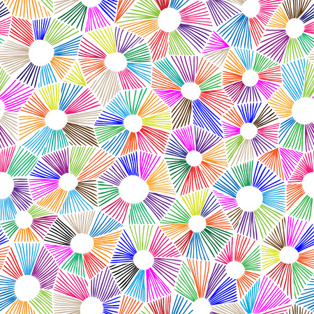 Vector abstract triangles pattern, honeycomb grid handdrawn backdrop.