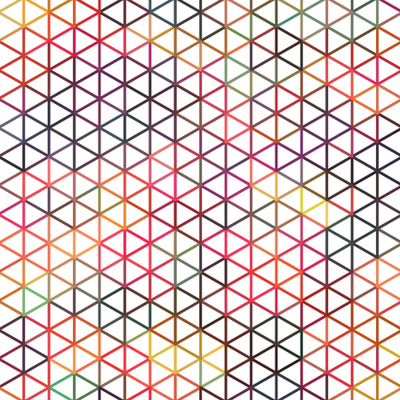 Simple geometric triangle backdrop.