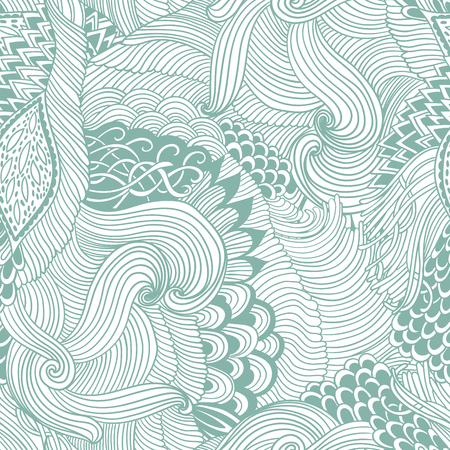 Hand draw illustration, coloring book zentangle.