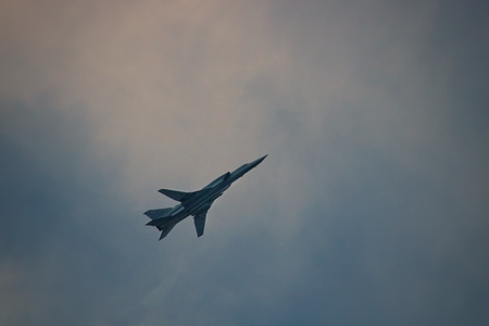 NATO: Backfire. Bombers of Russian Air Force in sky