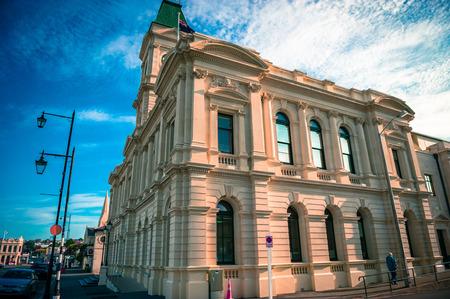 Oamaru town building