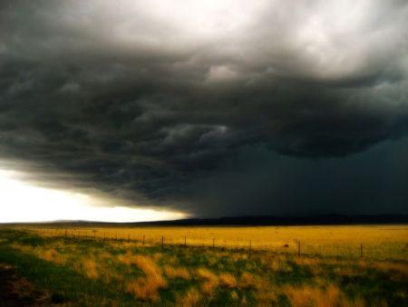 Storm on the Horizon v1 Stock Photo
