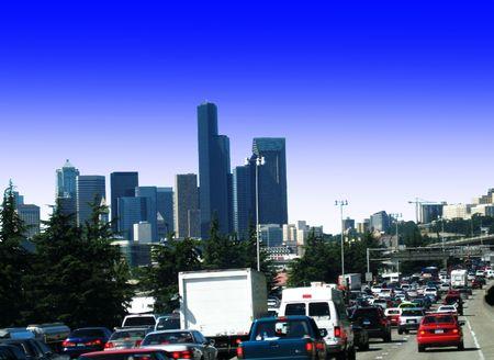 Rush Hour ! v1 Stock Photo