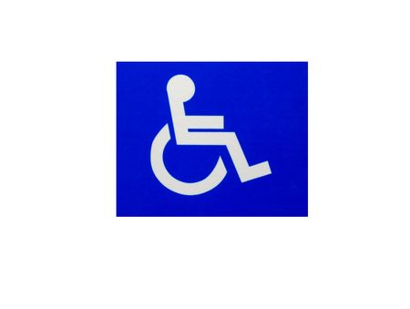Square Handicap Sign