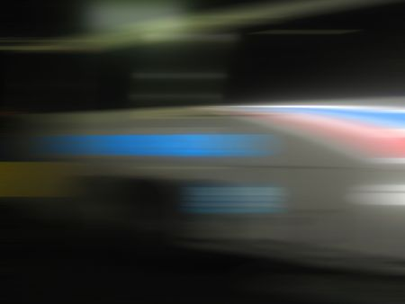 Motion Blur Abstract with Red White Blue and Black Colors