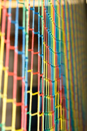 Rainbow Colored Net Background abstract Reklamní fotografie