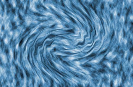 Blue Water Smooth getextureerde rimpel abstracte achtergrond Stockfoto