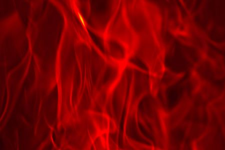 Flames Fire of Hell against a black background.
