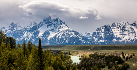 Storm in Tetons