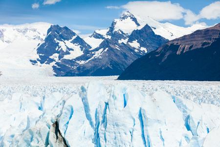 ペリトモレノ パタゴニア アルゼンチン ウシュアイア 写真素材